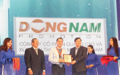 Dong Nam Advertising and Commercial Promotion JSC was honoured to receive